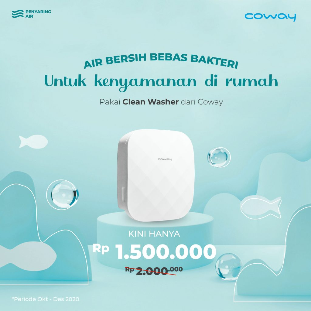 Coway Jakarta - Clean Washer Q4 Promotion 01 1