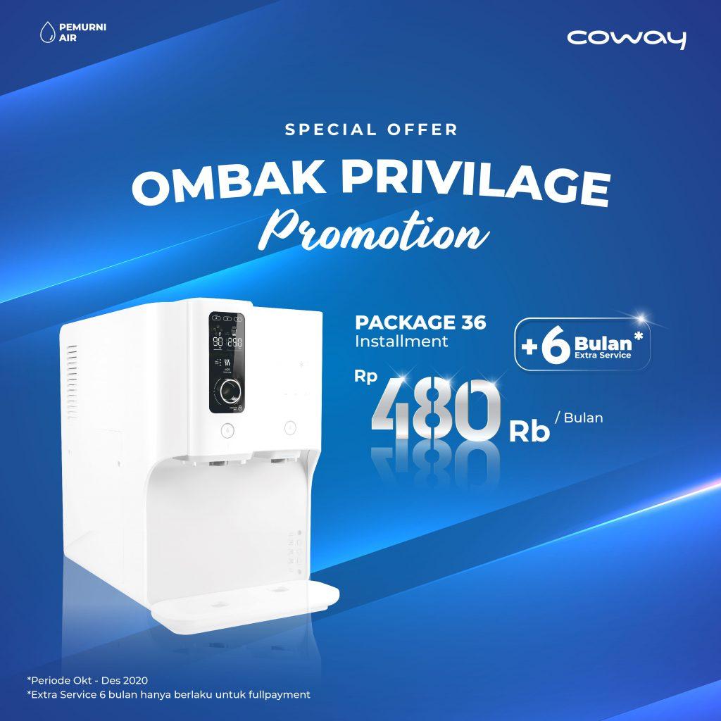 Coway Jakarta - Ombak Privilege Promotion Q4 Promotion 01 1