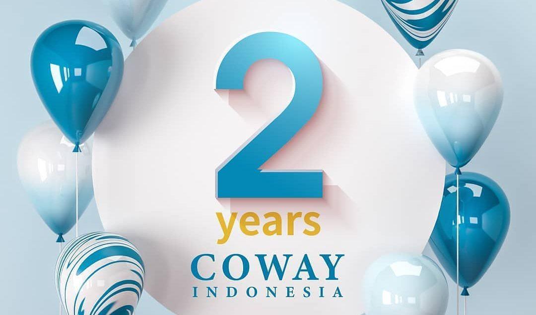 2 Tahun Coway Indonesia! Coway akan terus berkembang melayani keluarga Indonesia untuk memberikan hi...