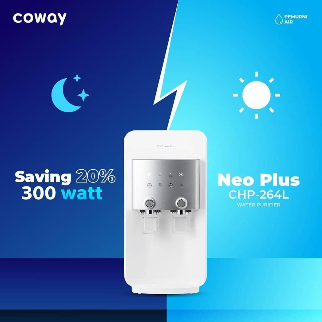 Coway Jakarta - Dengan Eco Mode yang dimiliki oleh Neo Plus kamu bisa