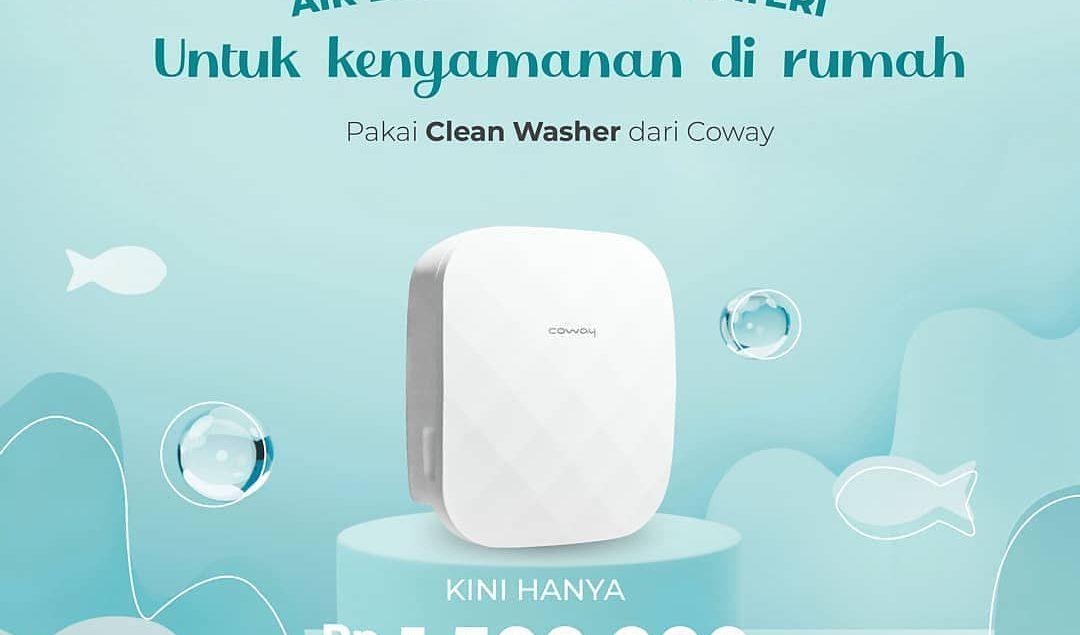 Kualitas air buruk dan air terkontaminasi karat di rumah? Tak perlu khawatir lagi, karena ada Clean ...