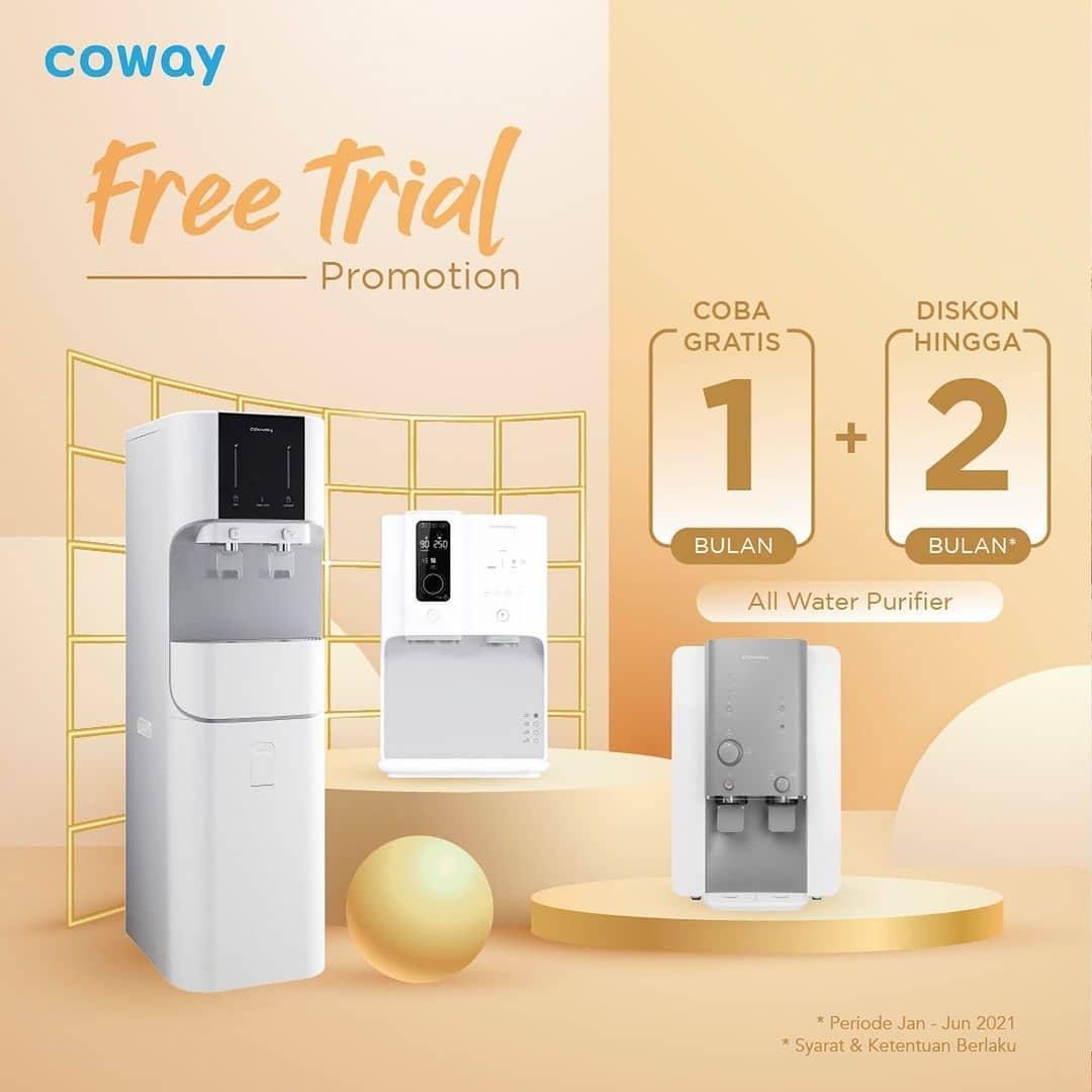 Coway Jakarta - Mau beli Water Purifier Sekarang kamu bisa coba pasang gratis