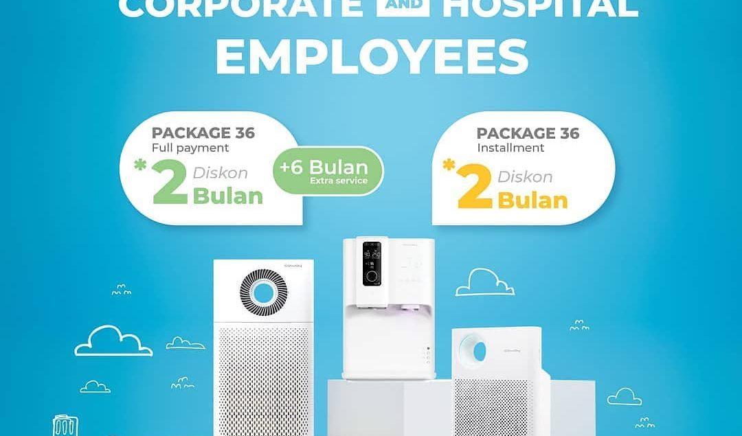 Penawaran khusus bagi kamu yang merupakan karyawan dari suatu perusahaan maupun rumah sakit yang tel...