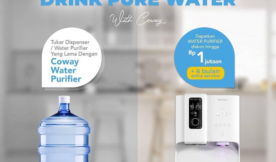 Ubah gaya hidup kamu sekarang juga! Tukar dispenser / water purifier / water filter kamu yang lama d...