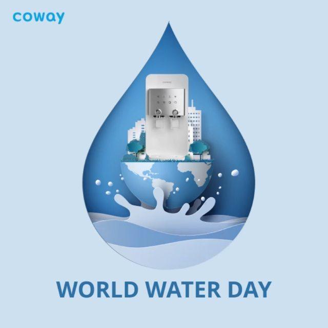 Coway Jakarta - Yuk mulai pintar pintar menggunakan air dan saling berbagi air bersih