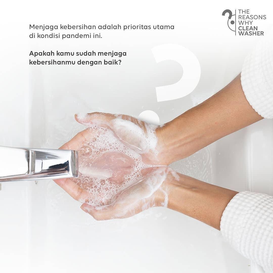 Coway Jakarta - 1617214222 60 Dalam situasi pandemi ini kebersihan menjadi prioritas utama terutama setelah