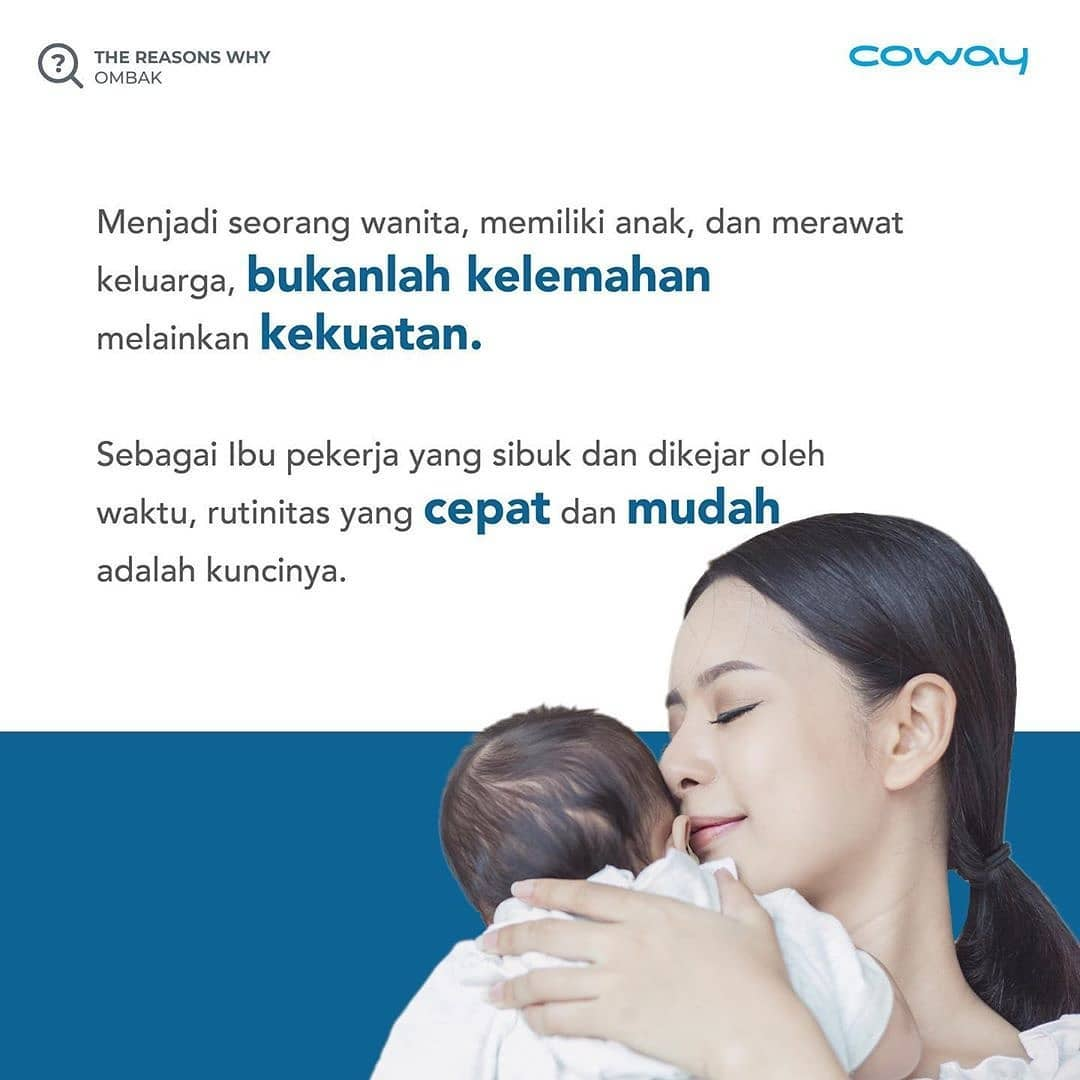 Coway Jakarta - 1617490312 182 Reason No1 why do you have to choose OMBAK Water