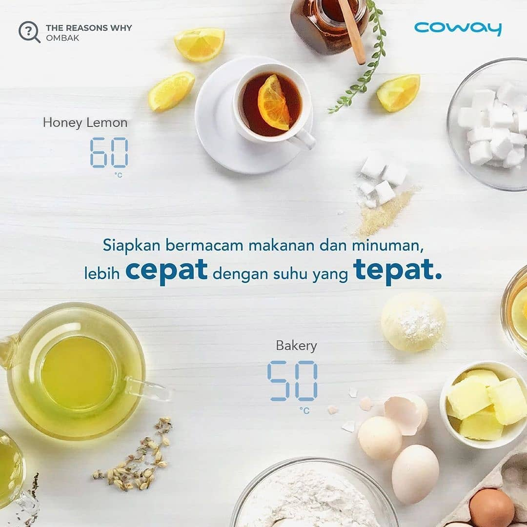 Coway Jakarta - 1617490312 505 Reason No1 why do you have to choose OMBAK Water
