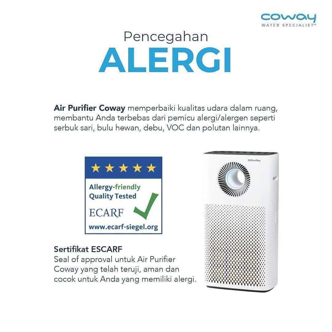 Coway Jakarta - 1617845839 862 Alergi dapat timbul karena beberapa faktor salah satunya kualitas udara