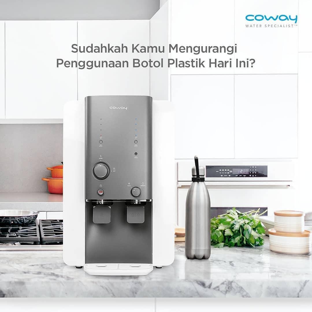 Coway Jakarta - Apakah kamu masih sering mengkonsumsi air botol kemasan Rata rata manusia