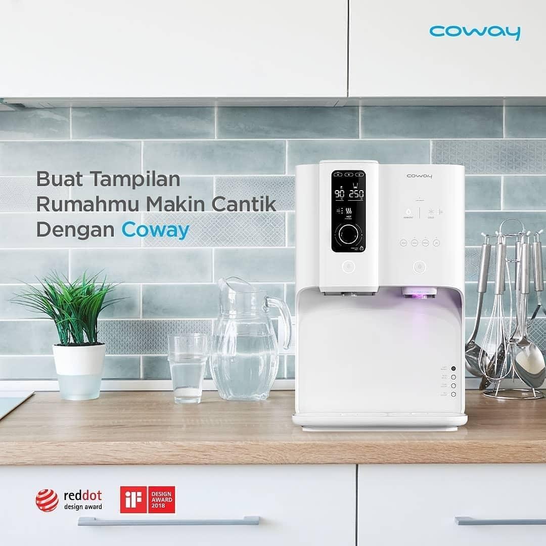 Coway Jakarta - Apapun style interior pilihanmu desain Coway Water Purifier dan Air