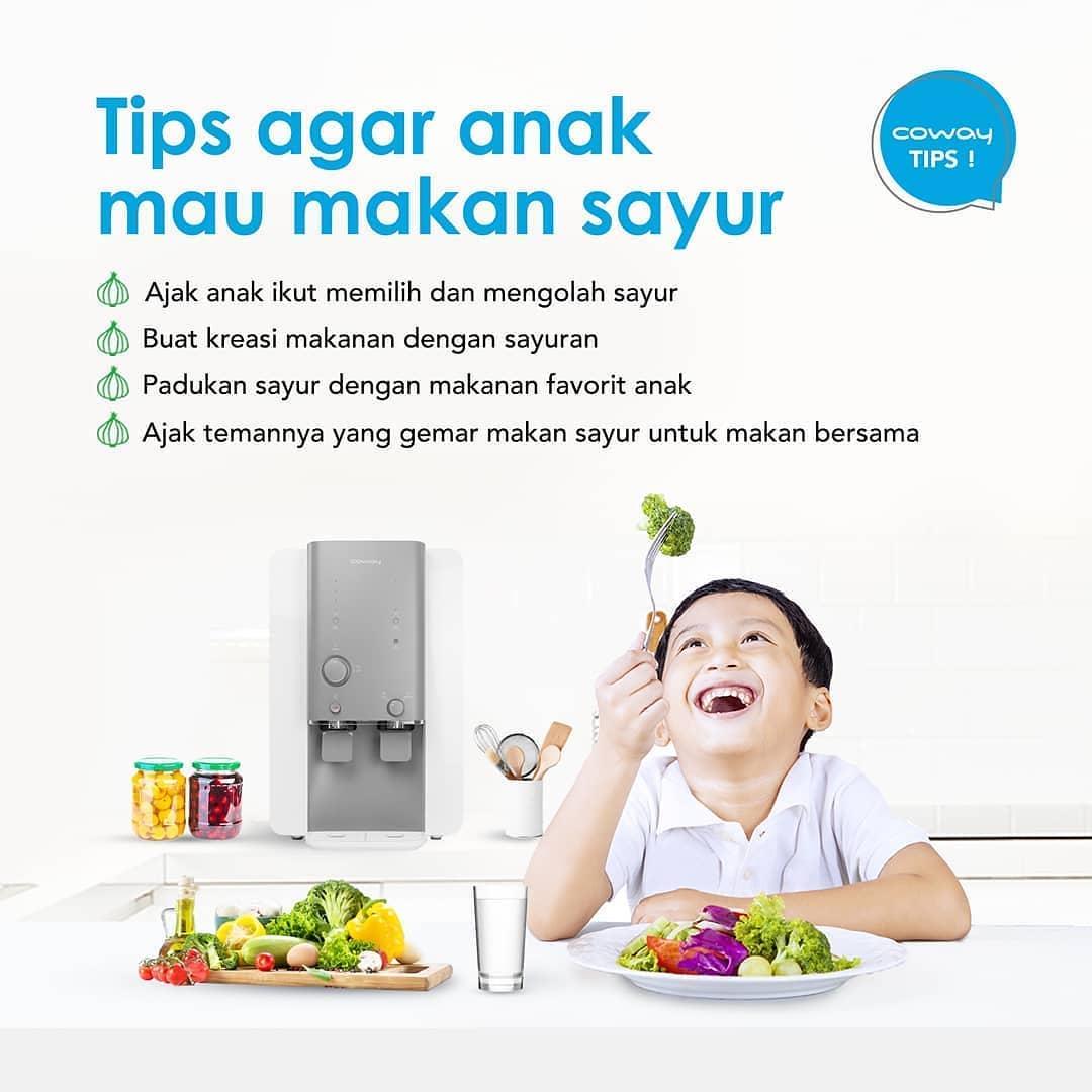 Coway Jakarta - Bingung anak tidak mau makan sayur Jangan khawatir ikuti tips