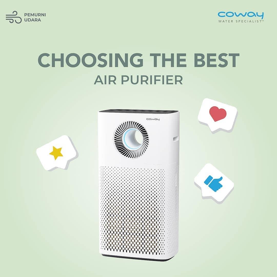 Coway Jakarta - Bingung pilih air purifier yang tepat Tips nya adalah pilihlah