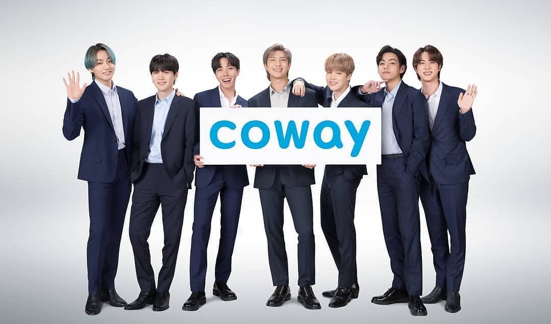 COWAY X BTS We are excited to announce BTS as our global brand ambassador Let's welcome our new...