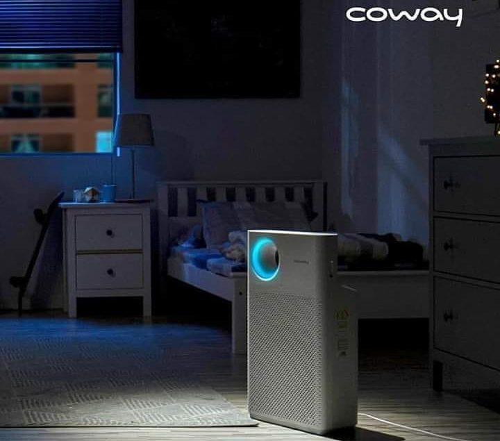 Coway Air Purifier Breeze akan membuat kamar tidur lebih nyaman dan relax di saat kita sedang istira...