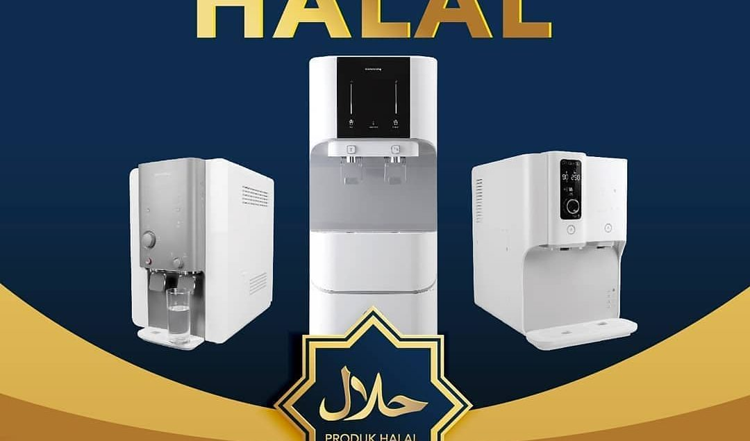 Coway menyediakan Water Purifier yang telah mendapatkan sertifikat Halal sehingga air dari Coway Wat...