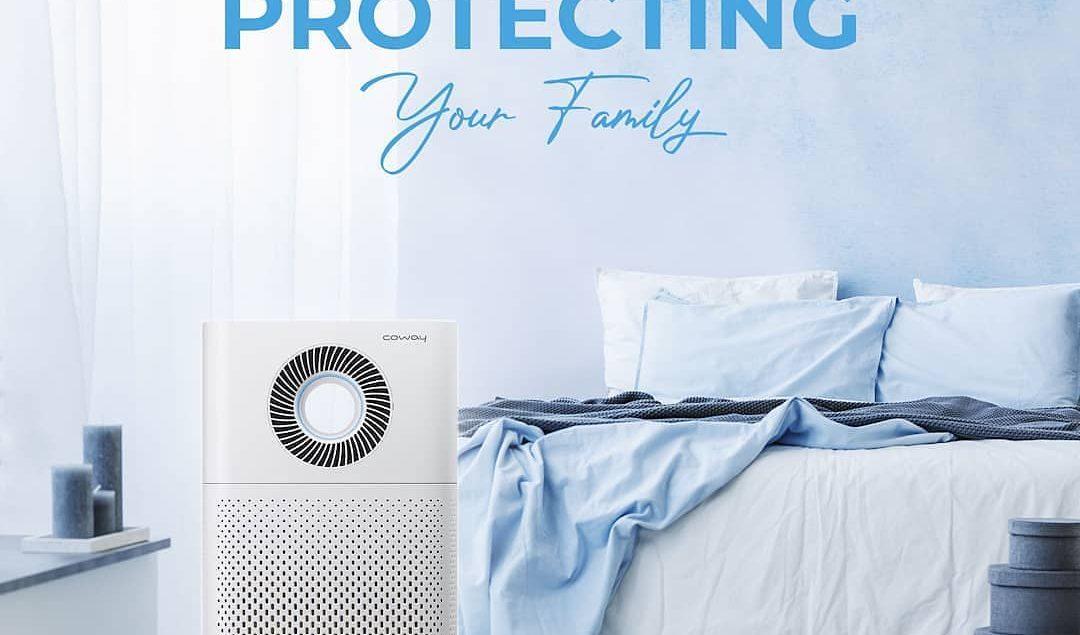 Ini dia cara baru untuk melindungi keluarga di masa New Normal. Gunakan Coway Air Purifier agar udar...