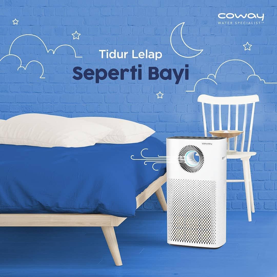 Coway Jakarta - Jangan biarkan tidur malammu tidak lelap hanya karena kualitas udara
