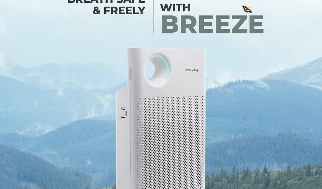 Kamu bisa bernafas lebih bebas dan lega di dalam rumah. Karena BREEZE Air Purifier dengan teknologi ...