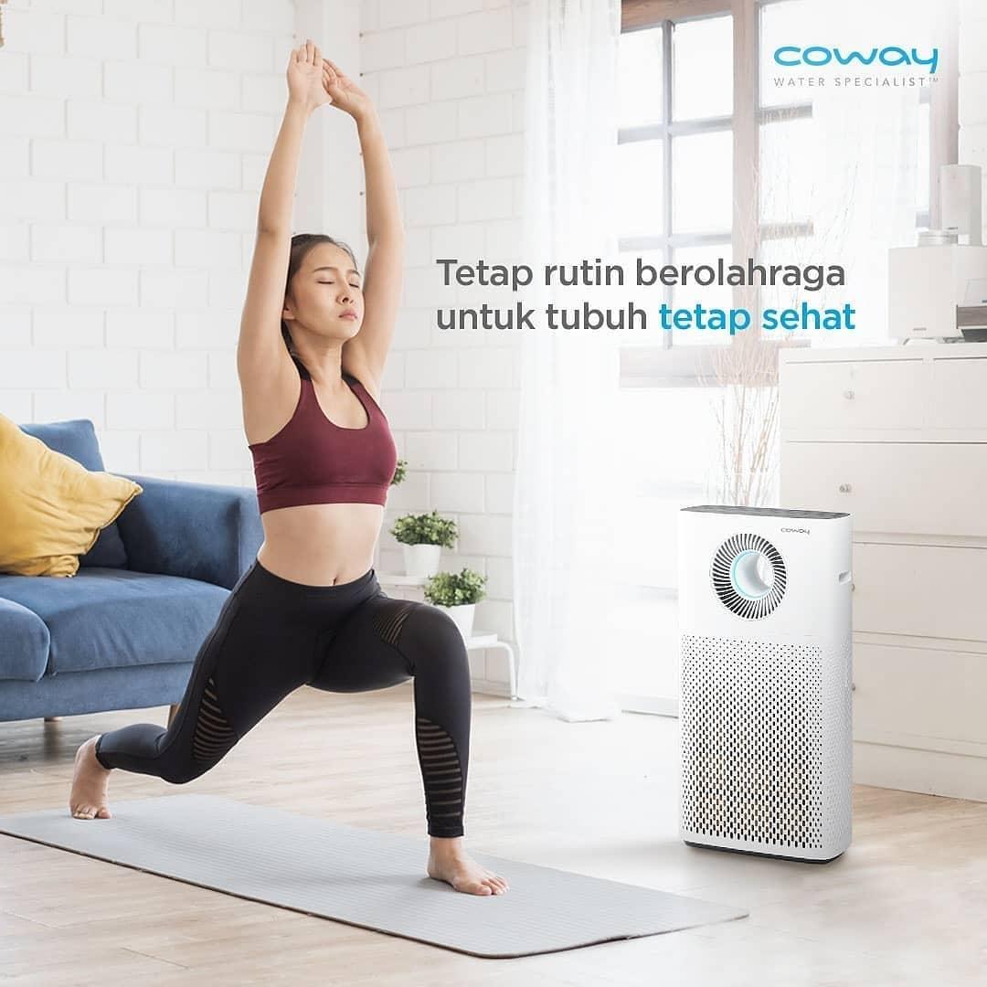 Coway Jakarta - Kamu tim olahraga setiap hari atau olahraga di weekend aja