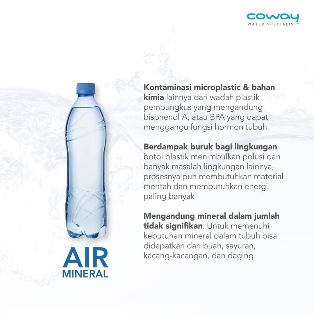 Coway Jakarta - Kontaminasi microplastik dan bahan kimia lain nya dari wadah plastik