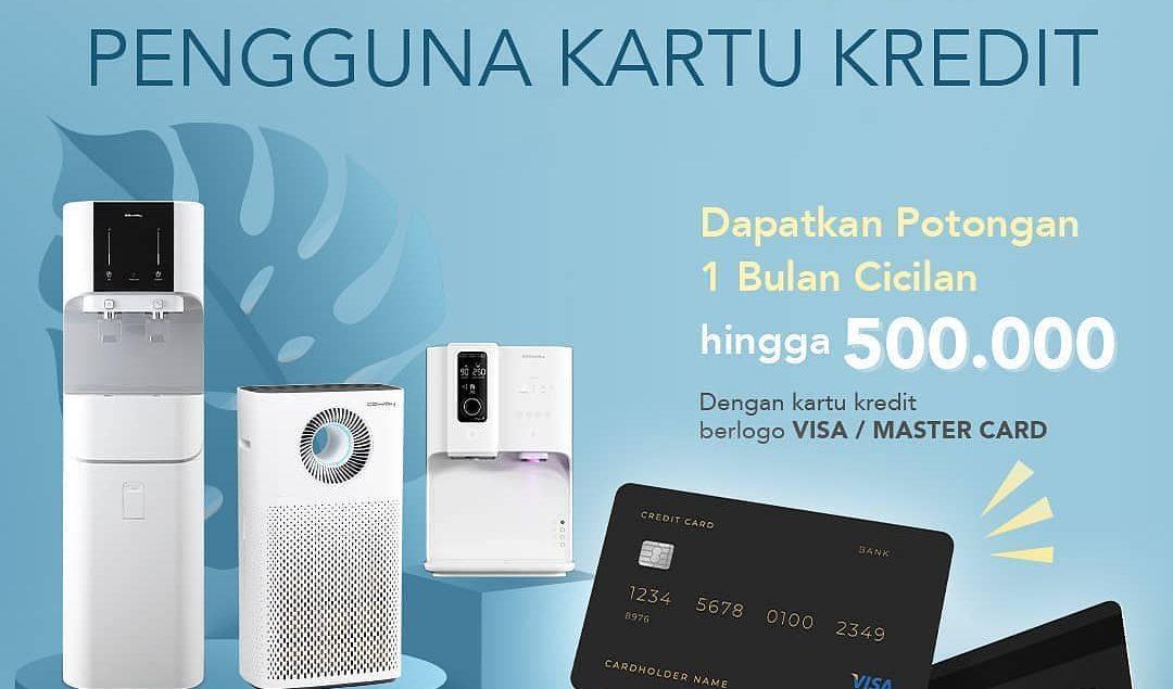 Lebih mudah dan untung bagi kamu pengguna kartu kredit apa saja berlogo Visa / Mastercard, kamu bisa...