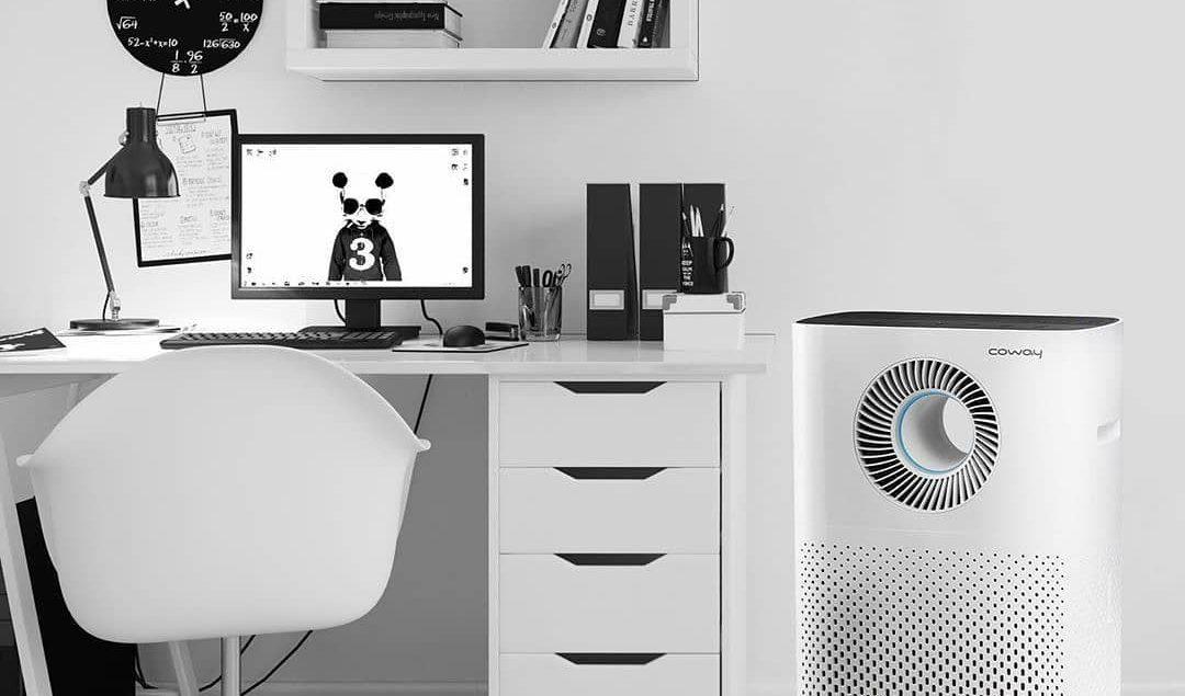 Lengkapi ruang kerja mu dengan Coway Air Purifier Strom yang akan membuat mu nyaman dan relax saat b...