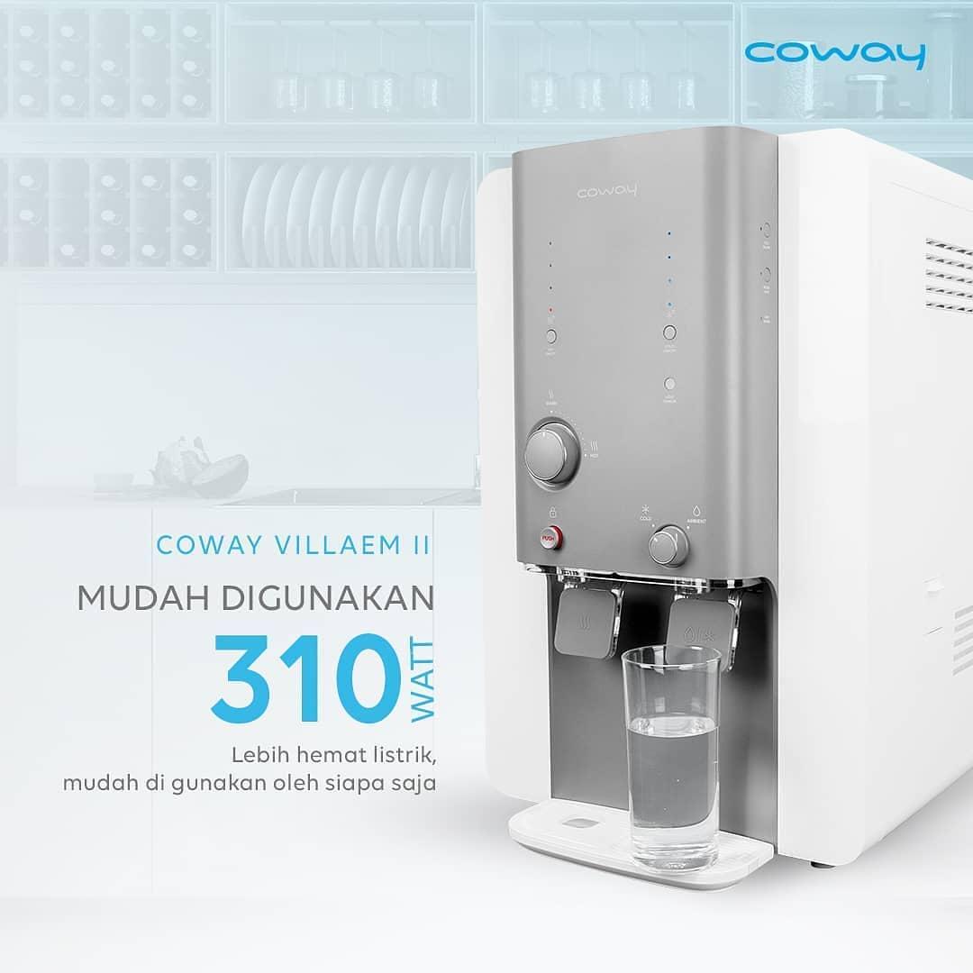 Coway Jakarta - Mau punya water purifier tapi takut listrik mahal Mau hidup