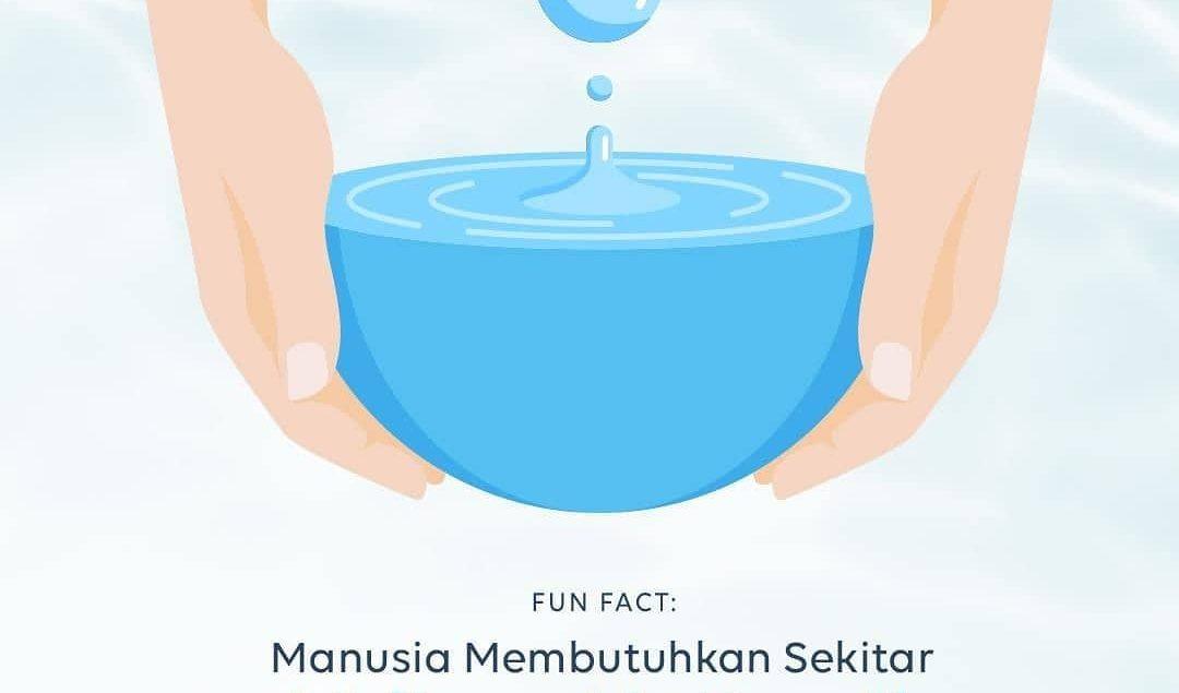 Menurut Badan Informasi Geospasial, manusia membutuhkan sekitar 60 liter air bersih untuk kebutuhann...