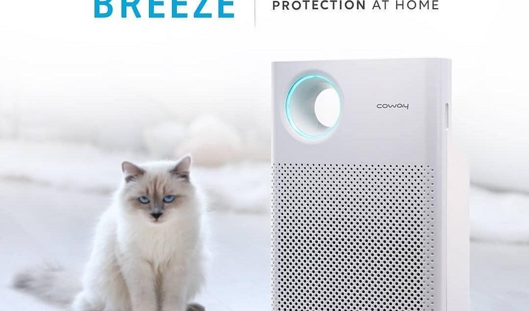 No worry bagi kamu yang memiliki hewan peliharaan.  Karena dengan Breeze, filter penyaringannya mamp...
