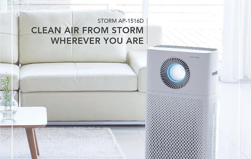 Pemurni Udara Storm, dengan fitur yang kuat dapat memurnikan udara secara optimal, menyediakan sirku...