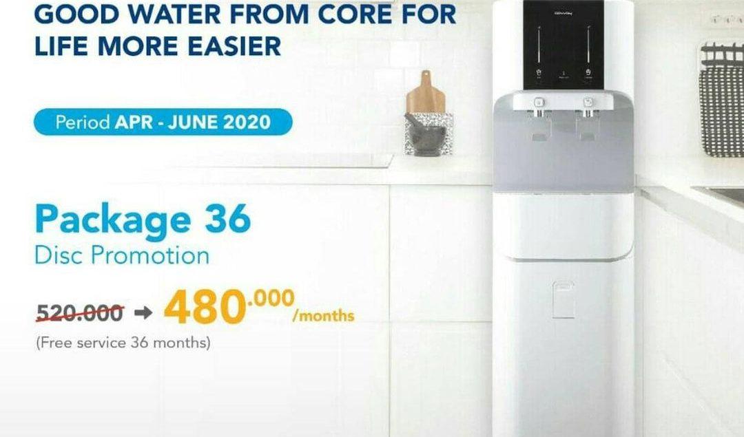Promo yang ditunggu tunggu! Sekarang kamu bisa dapatkan CORE Water Purifier Package 36, hanya dengan...