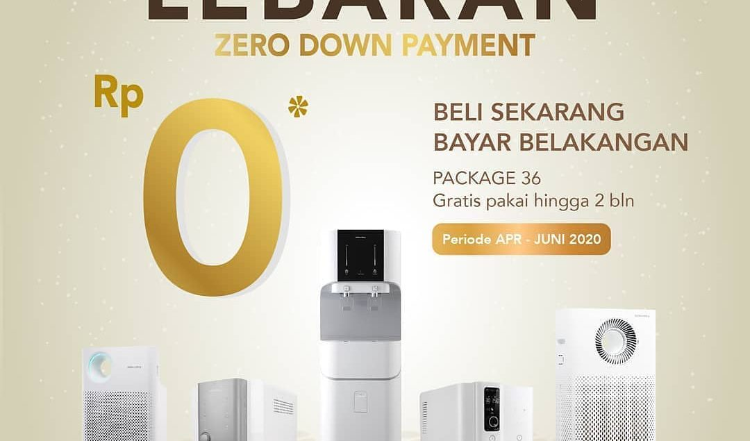 Sediakan yang terbaik di moment Lebaran kali ini. Special promo Zero Down Payment untuk package 36. ...