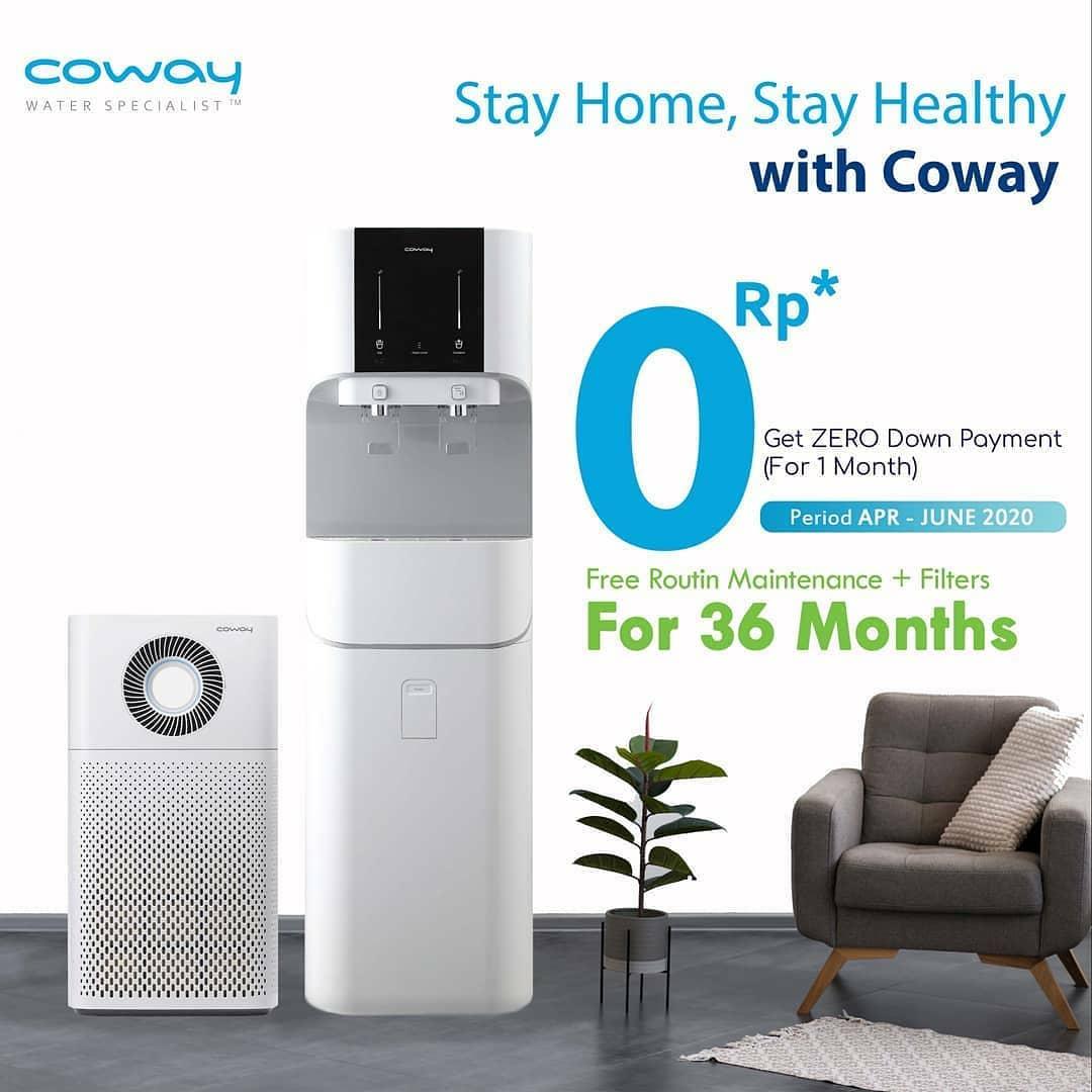 Coway Jakarta - Sekarang untuk setiap pembelian produk Coway tipe apa saja kamu