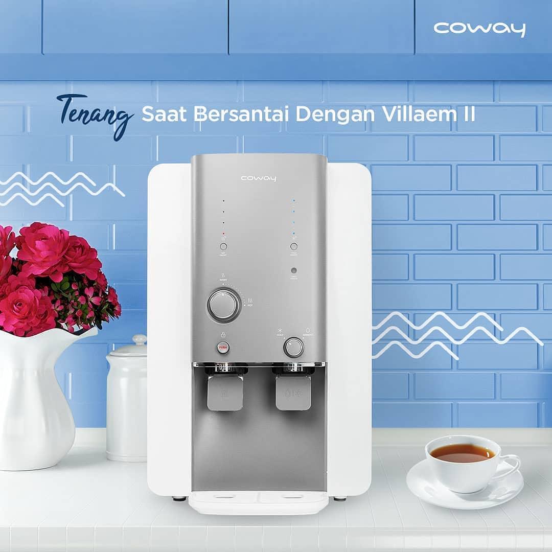 Coway Jakarta - Selamat beraktifitas Sambil menikmati hari selasa cerah Yuk ditemani segelas