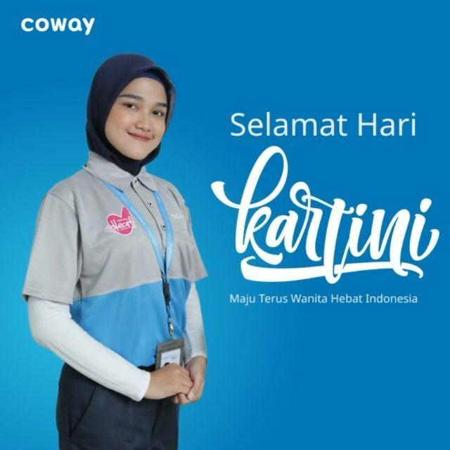 Coway Jakarta - Selamat hari Kartini untuk seluruh wanita Indonesia Cody atau Coway
