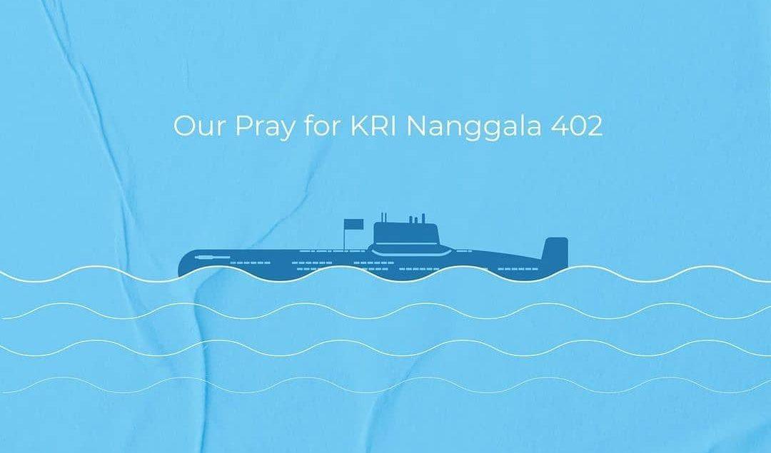 Sending our love and prayer for KRI Nanggala 402, now on eternal patrol. Selamat jalan para pahlawan...