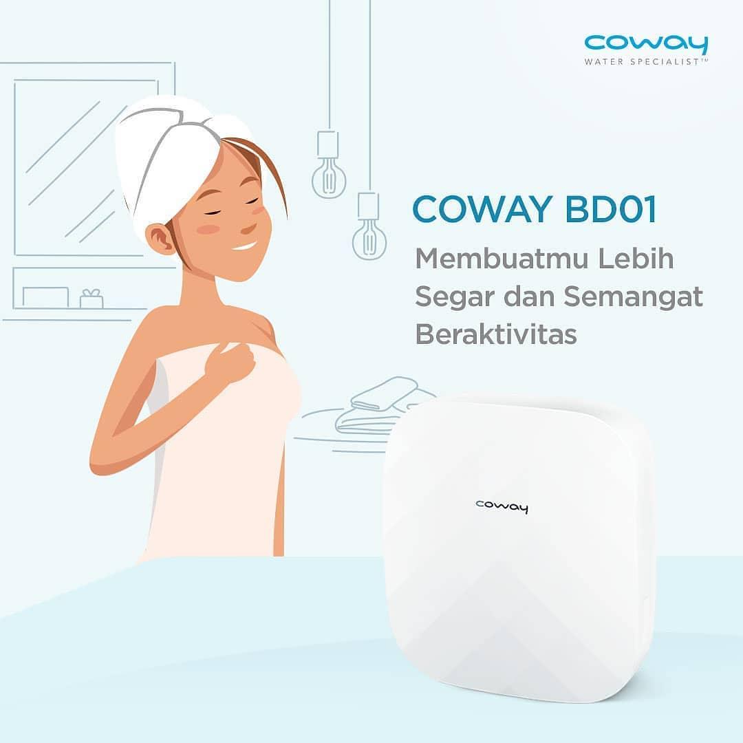 Coway Jakarta - Siapa yang suka kesel kalau udara diluar lagi panas panasnya Cuaca