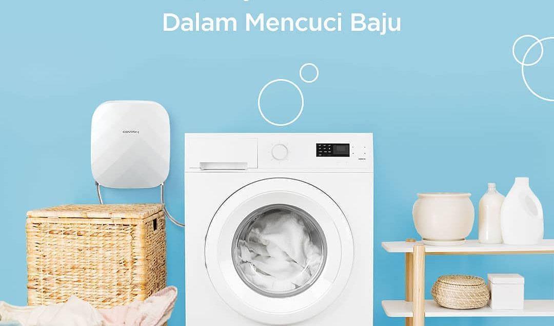 Stop! Jangan gunakan air biasa untuk mencuci baju anak kamu. Gunakan air dari Coway Clean Washer unt...