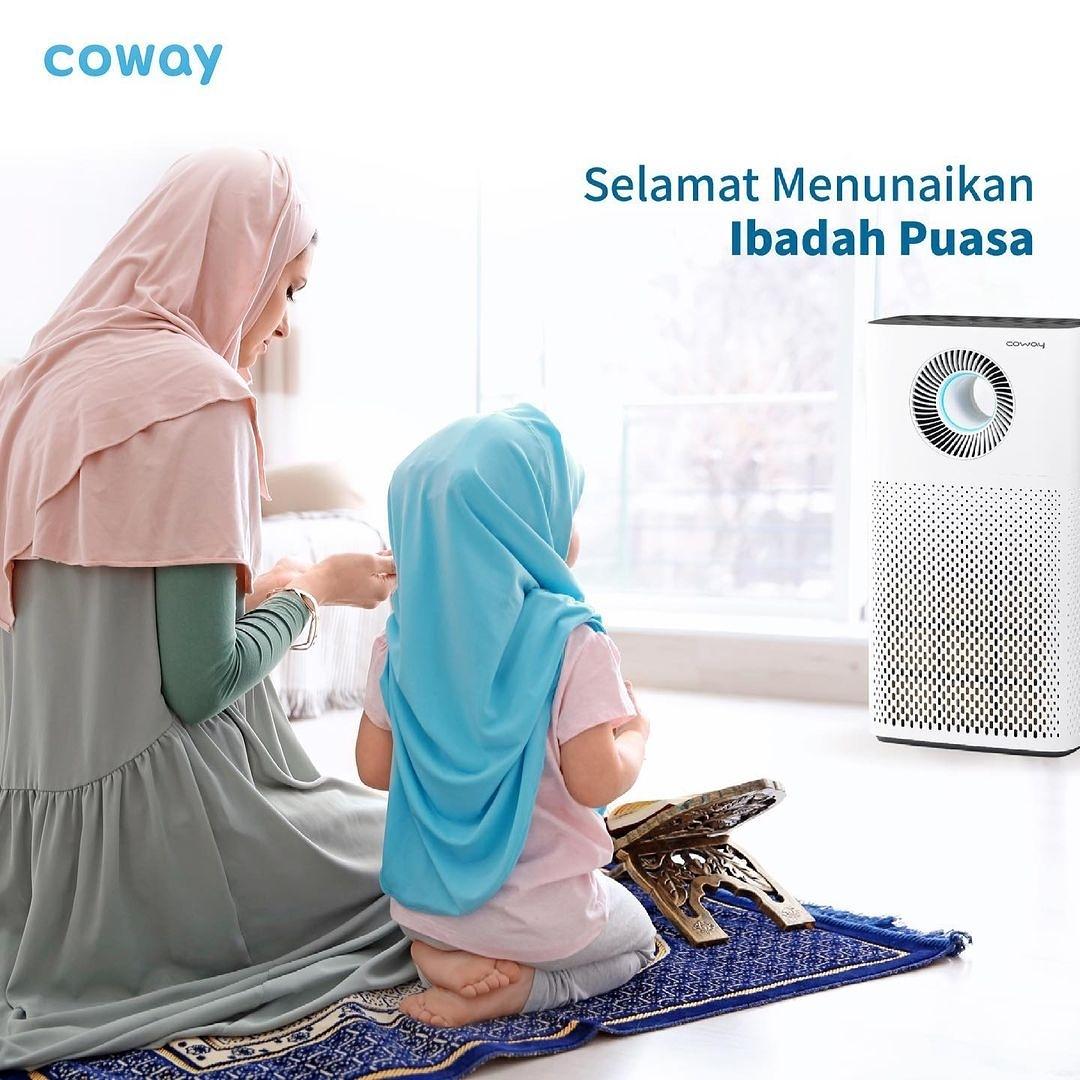 Coway Jakarta - Sucikan hati sucikan jiwa dan bersihkan pikiran Marhaban Ya Ramadhan