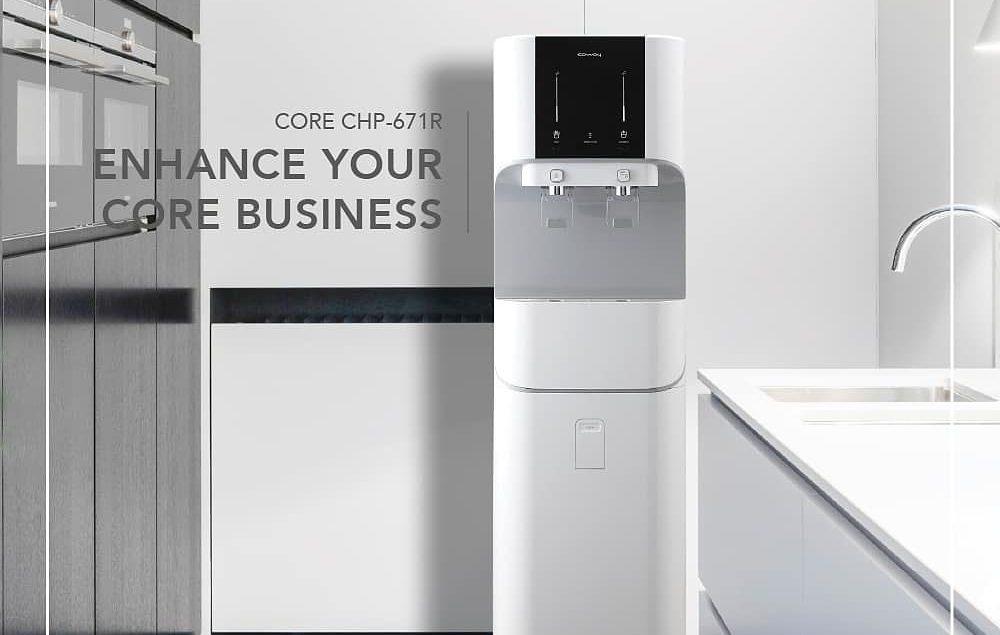 Sudah saatnya mengganti cara lama minum air. Pemurni Air Core, dengan design yang modern dan kapasit...