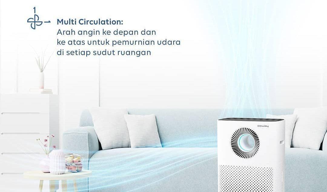 Tempatkan Storm air purifier di salah satu sudut rumahmu untuk membersihkan udara.  Storm memiliki 4...