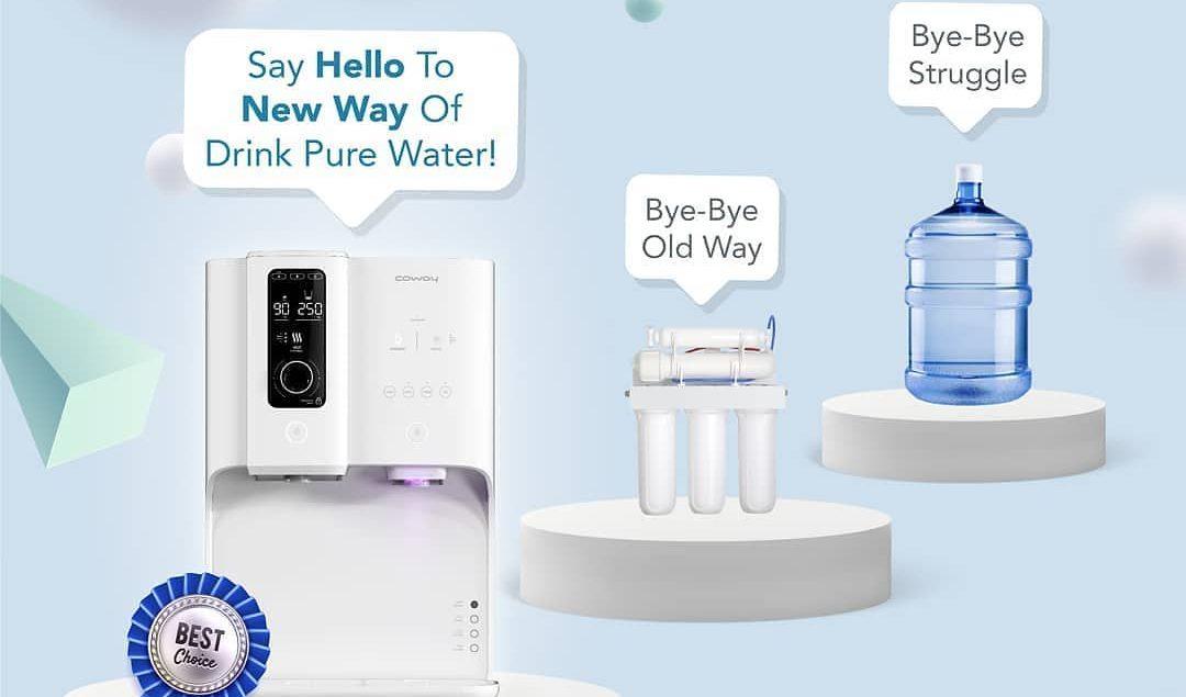 The New Revolution of Water Purifying. Sudah saatnya ganti cara lama kamu minum air. Ganti ke cara b...
