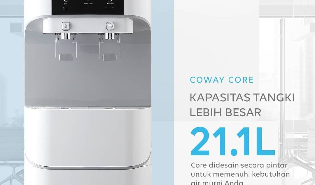 Tinggal dengan keluarga besar? Jangan kuatir, CORE water purifier memiliki tangki super besar dengan...