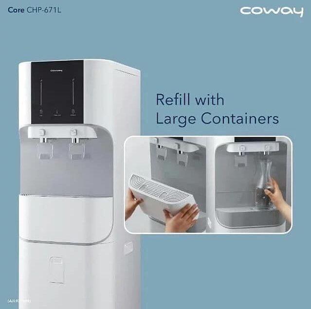 Water Purifier Core mempunyai kapasitas besar dan design yang modern.  Core CPH-671L                ...