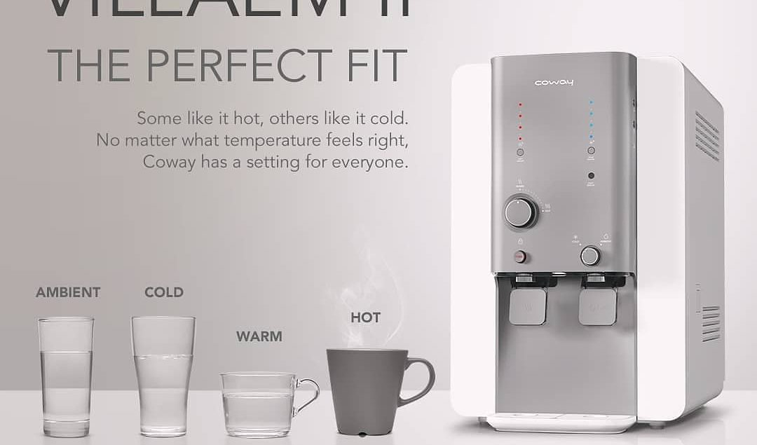 Whatever your preference,  has something for everyone. With four perfect temperatures, it's water ma...