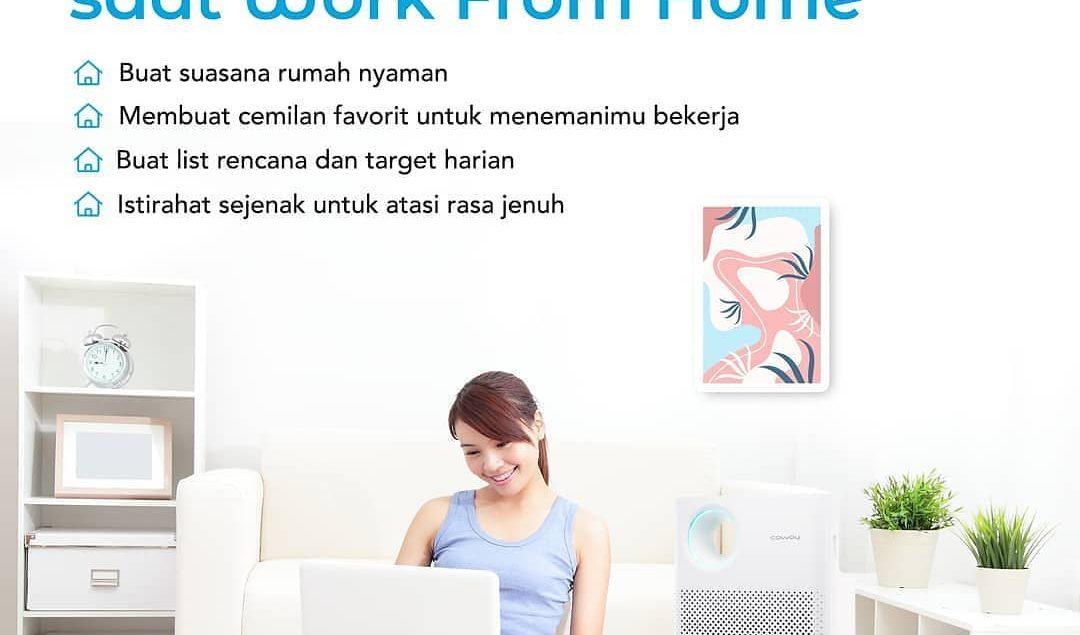 Work from Home ditengah pandemic? Ikuti tips-tips nya yaa supaya kamu tetap bisa bekerja dengan nyam...