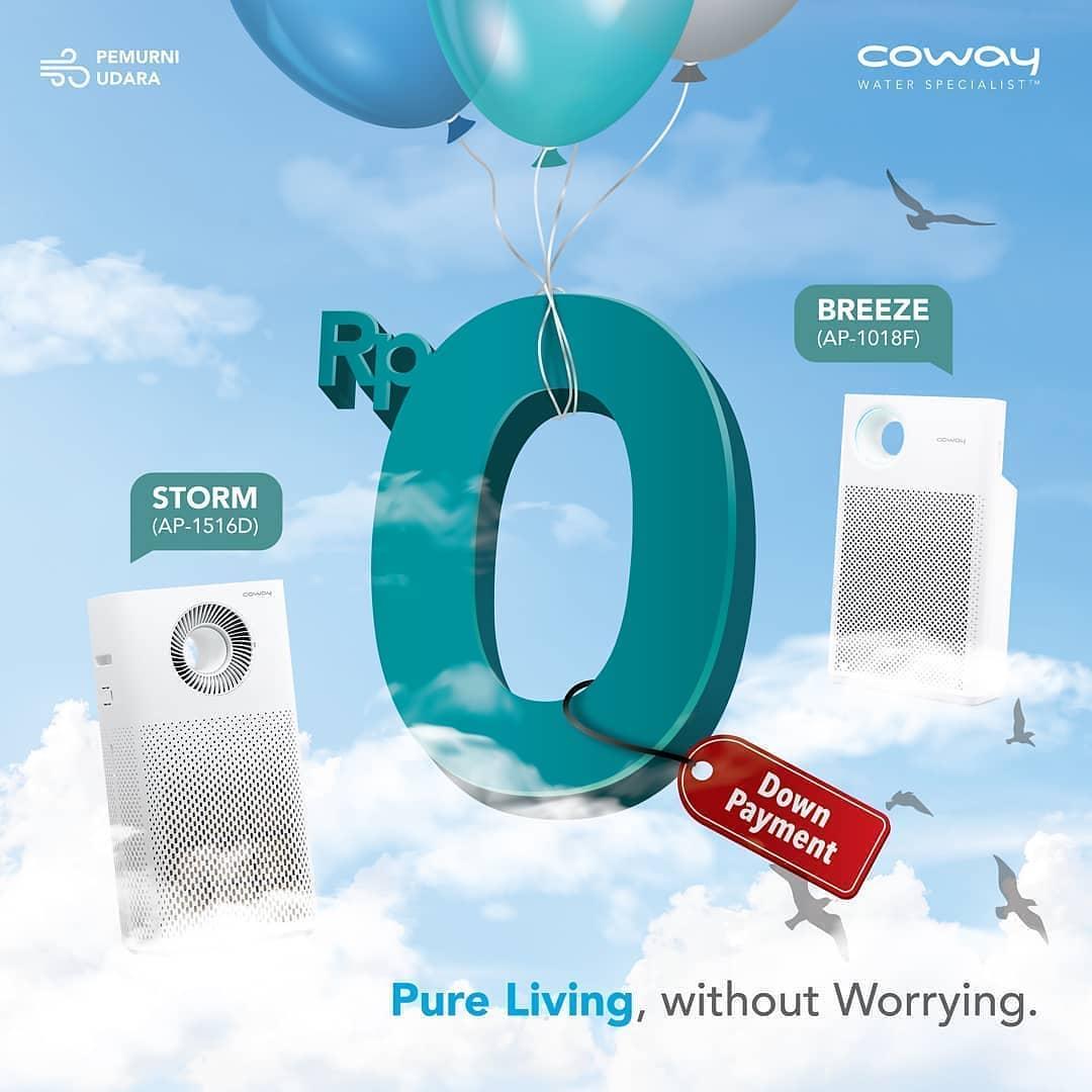 Coway Jakarta - Yakin lingkunganmu bebas dari bakteri dan virus Lakukan double protection