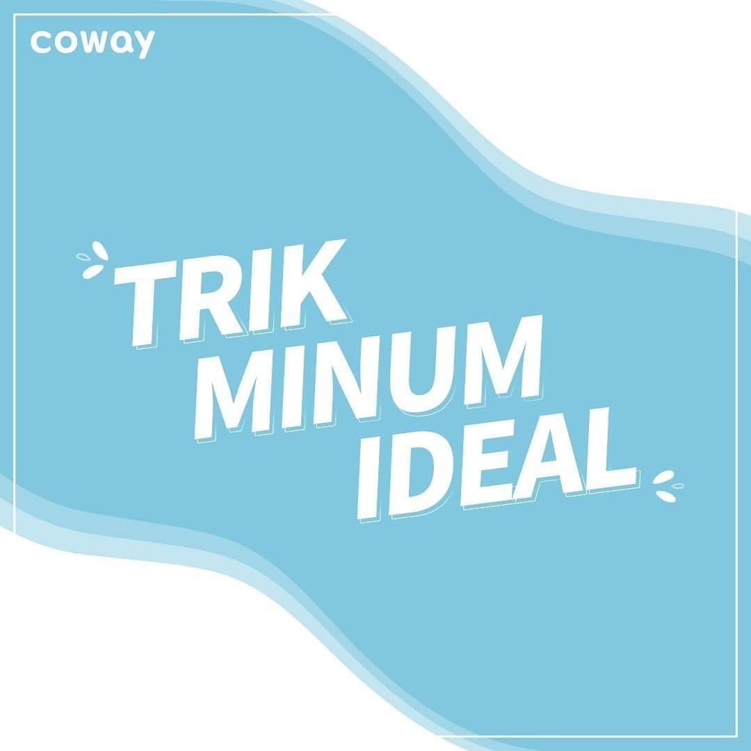 Coway Jakarta - Minum sambil duduk jongkok ngumpet itu bebas Namun pastikan Coway