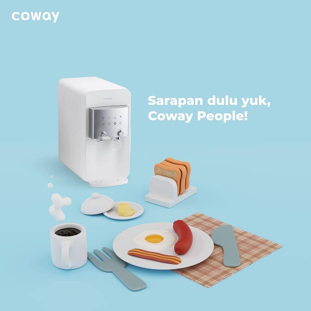 Coway Jakarta - Sarapan dulu yuk Coway People Jangan skip makan bergizi pagi